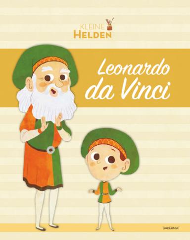 Kleine helden Leonardo Da Vinci cover