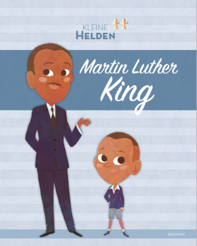 Kleine helden Martin Luther King cover