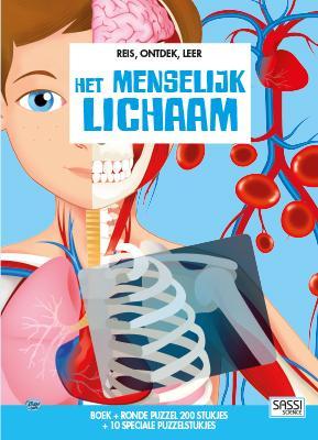 boek + puzzel het menselijk lichaam cover