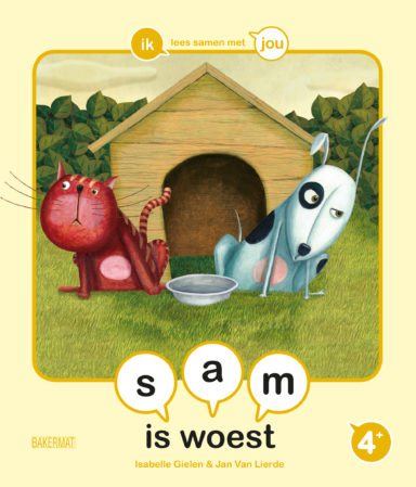Cover Samenleesboek Sam is woest