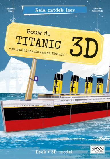 Bouw de Titanic 3D cover