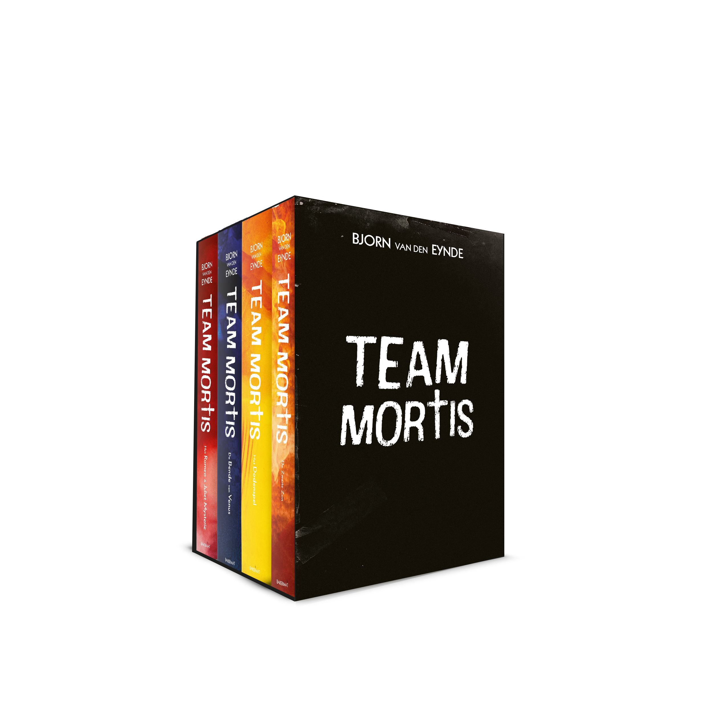 Box Team Mortis 4 paperbacks cover
