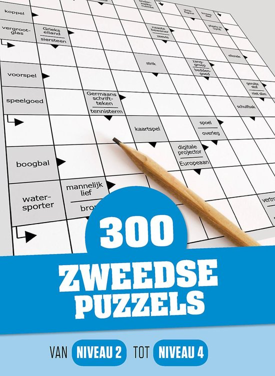 300 zweedse puzzels cover