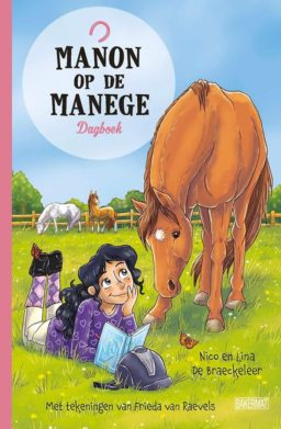 Manon op de manege dagboek cover