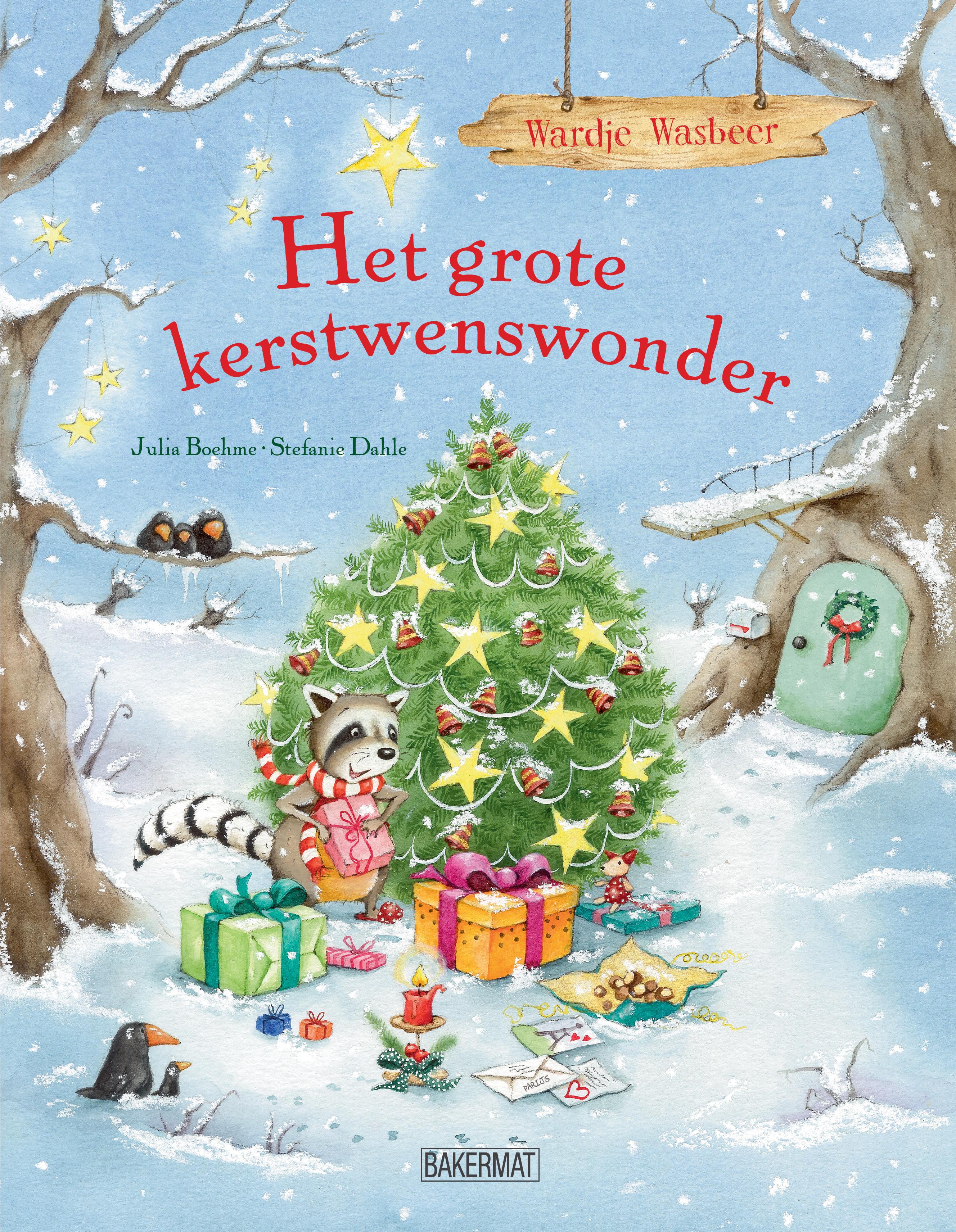 Wardje Wasbeer - Grote Kerstwenswonder cover