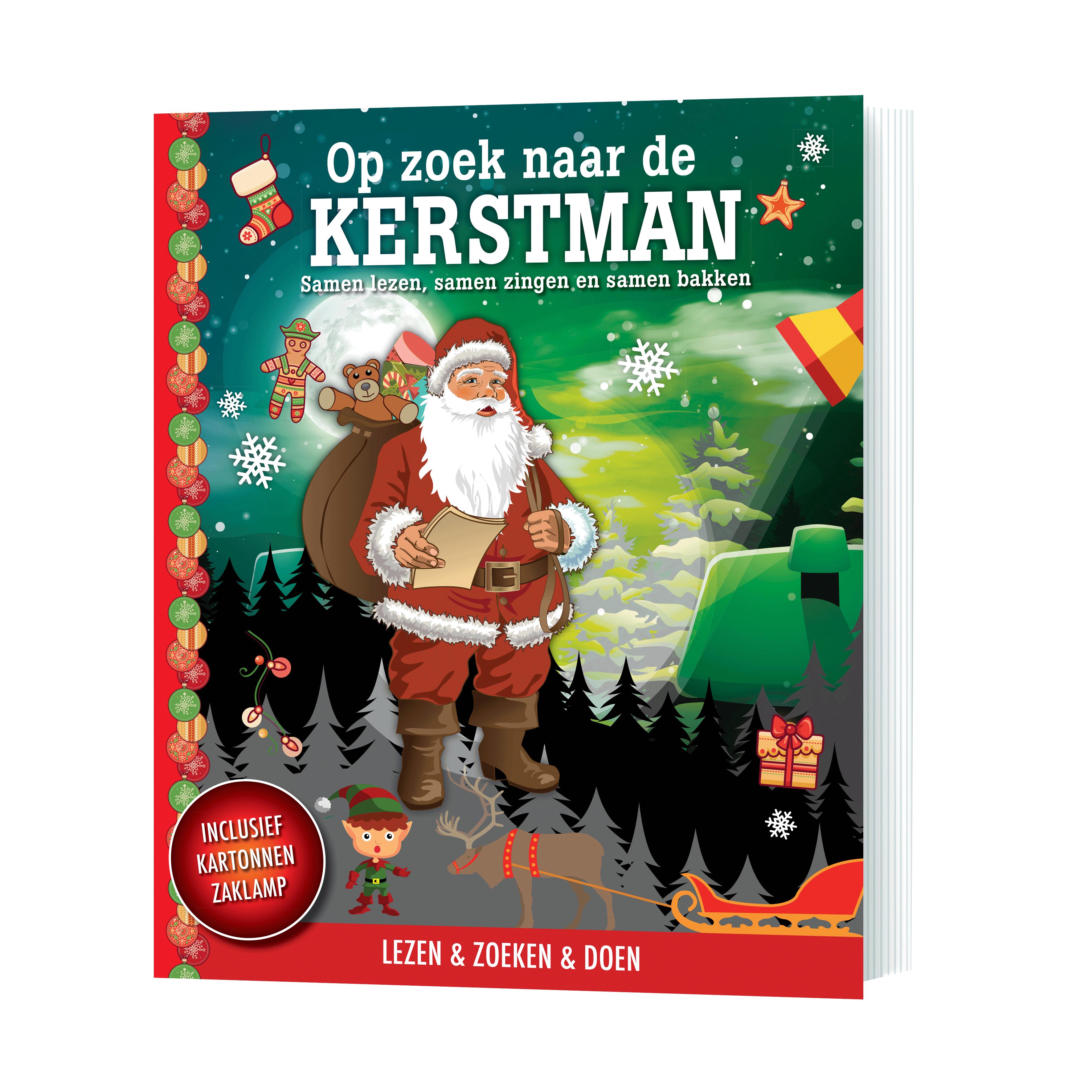 Op zoek naar de Kerstman cover