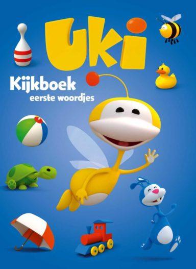 Uki kijkboek eerste woordjes cover