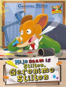 Mijn naam is Stilton, Geronimo Stilton cover