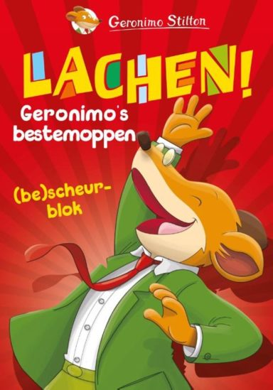 Moppenboek Geronimo Stilton cover