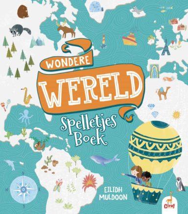 Wondere wereld spelletjesboek cover
