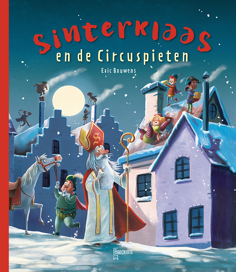 Cover Sinterklaas en de circuspieten