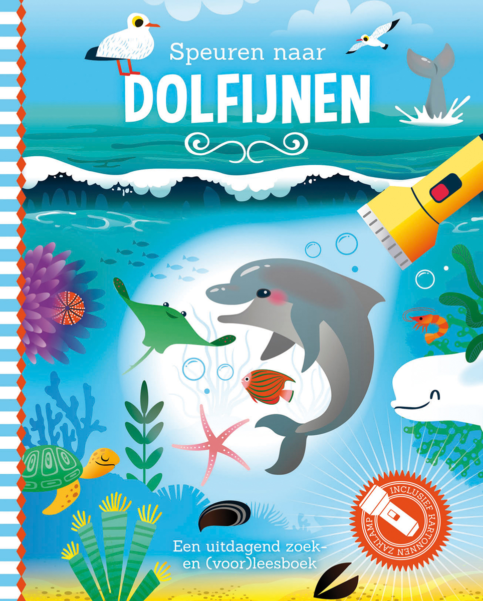 cover boek speuren naar dolfijnen