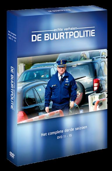 Foto dvd De Buurtpolitie seizoen 3