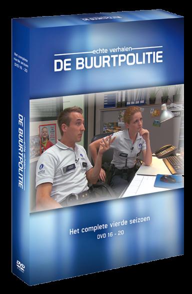 Foto dvd De Buurtpolitie seizoen 4