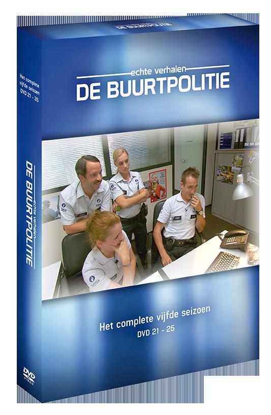 Foto dvd De Buurtpolitie seizoen 5
