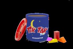 Foto blokkenton Tik Tak