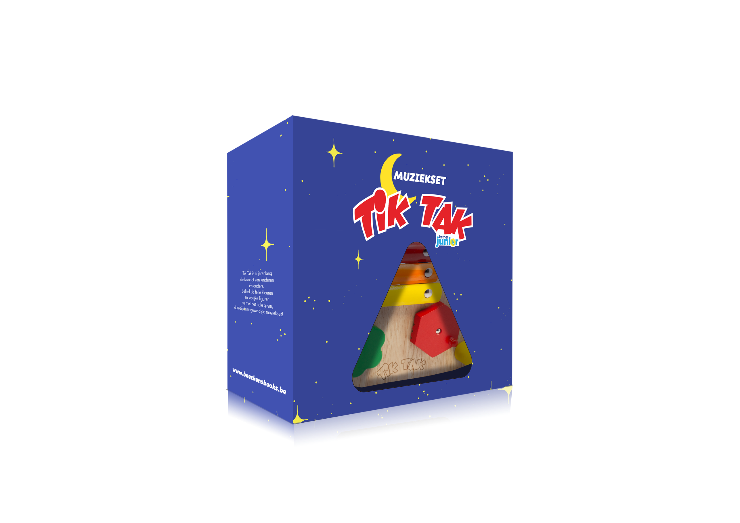 Foto Tik Tak muziekset in de doos