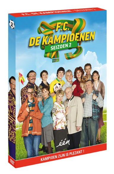 Foto DVD Kampioenen seizoen 2