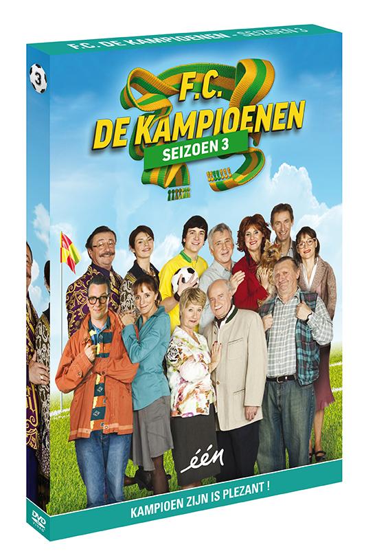 Foto DVD Kampioenen seizoen 3