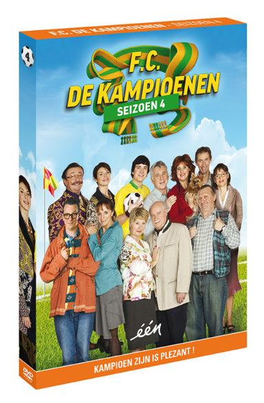 Foto DVD Kampioenen seizoen 4