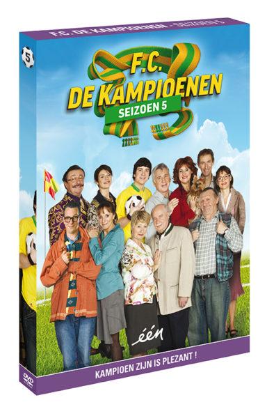 Foto DVD Kampioenen seizoen 5