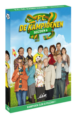 Foto DVD Kampioenen seizoen 6