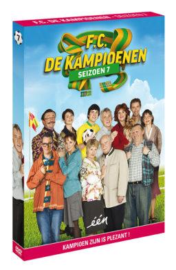 Foto DVD Kampioenen seizoen 7