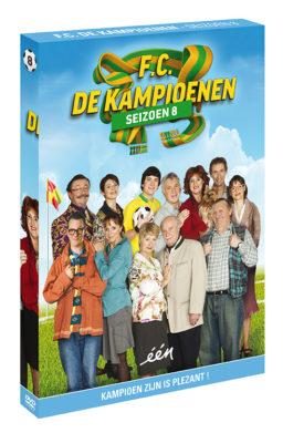 Foto DVD Kampioenen seizoen 8