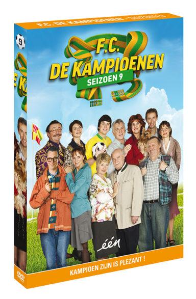 Foto DVD Kampioenen seizoen 9