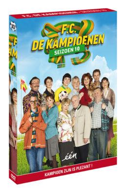Foto DVD Kampioenen seizoen 10