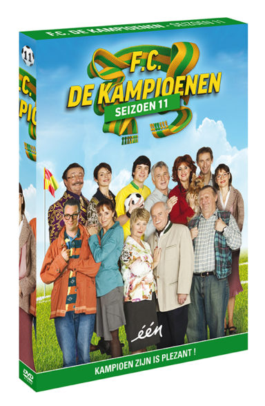 Foto DVD Kampioenen seizoen 11
