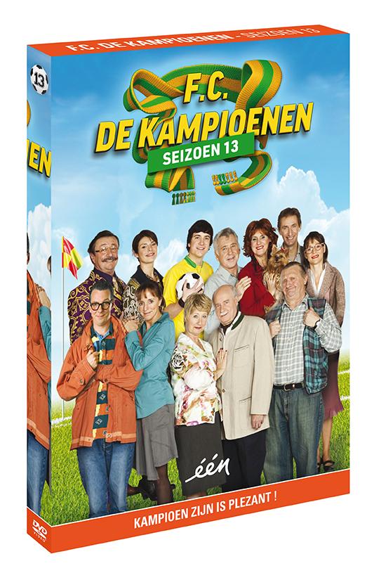 Foto DVD Kampioenen seizoen 13