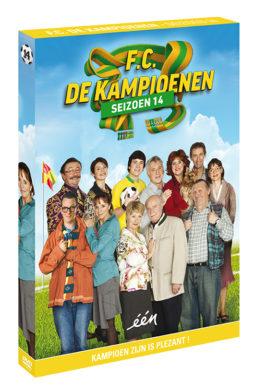 Foto DVD Kampioenen seizoen 14