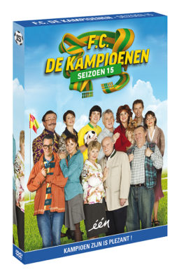 Foto DVD Kampioenen seizoen 15