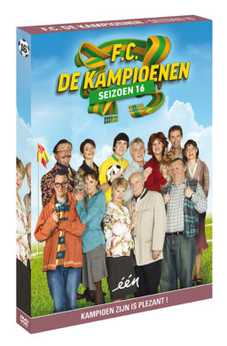 Foto DVD Kampioenen seizoen 16