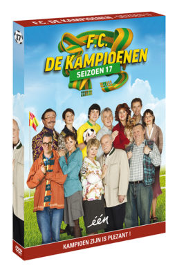 Foto DVD Kampioenen seizoen 17