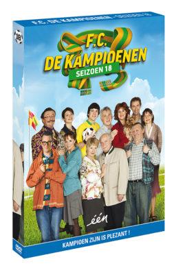 Foto DVD Kampioenen seizoen 18