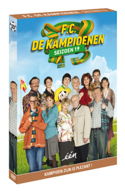 Foto DVD Kampioenen seizoen 19