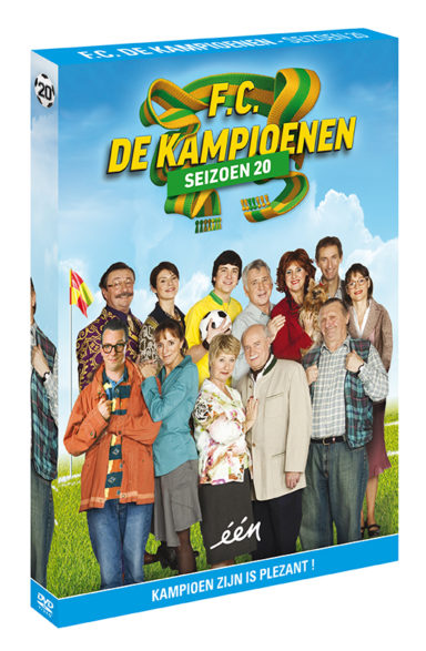 Foto DVD Kampioenen seizoen 20