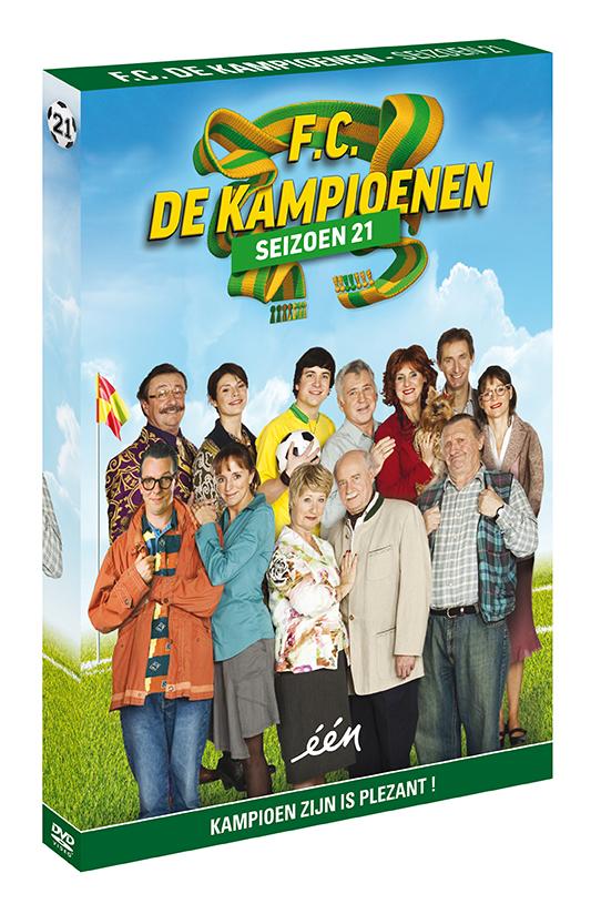 Foto DVD Kampioenen seizoen 21