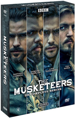 Foto dvdbox The Musketeers