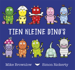 cover van tien kleine dino's