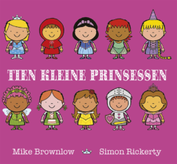 cover van tien kleine prinsessen