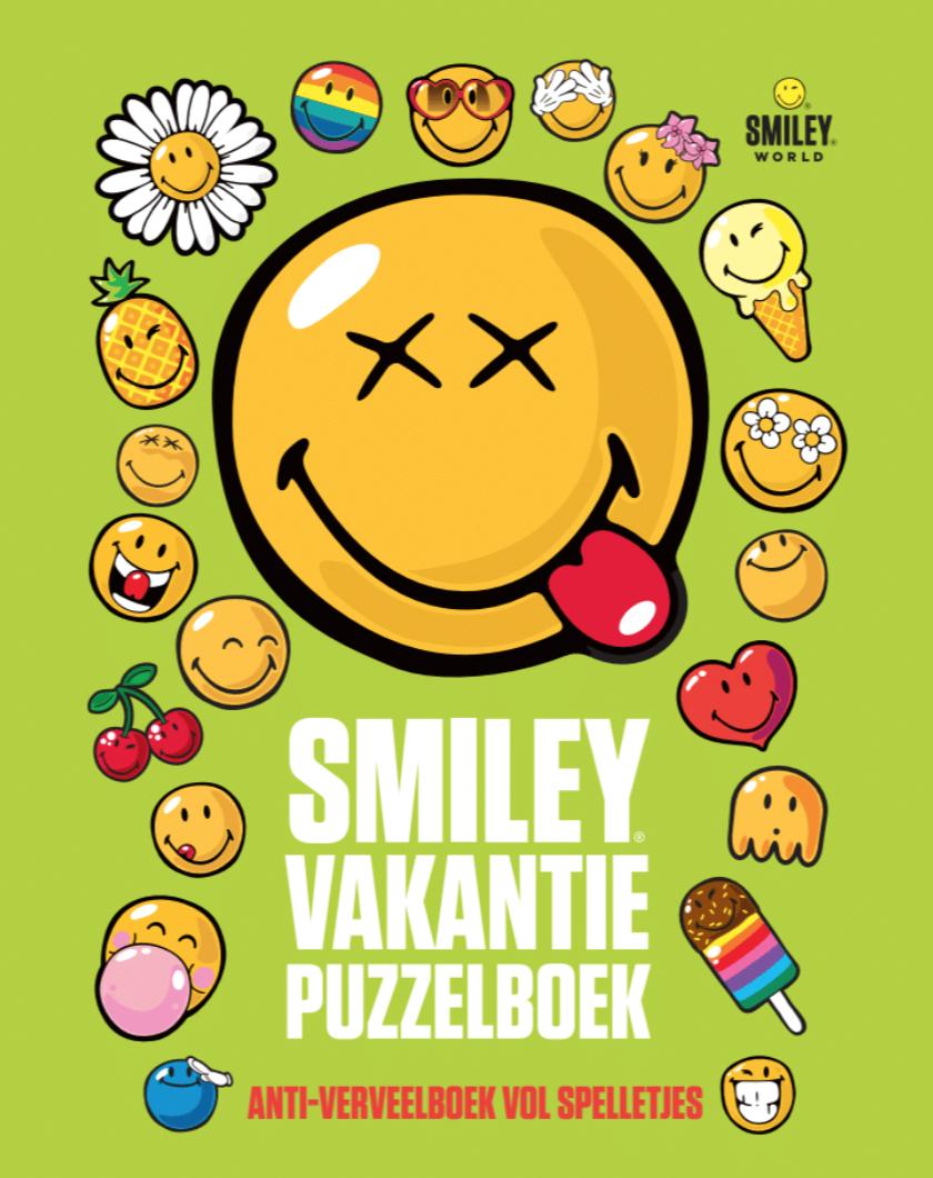 Smiley vakantiepuzzelboek