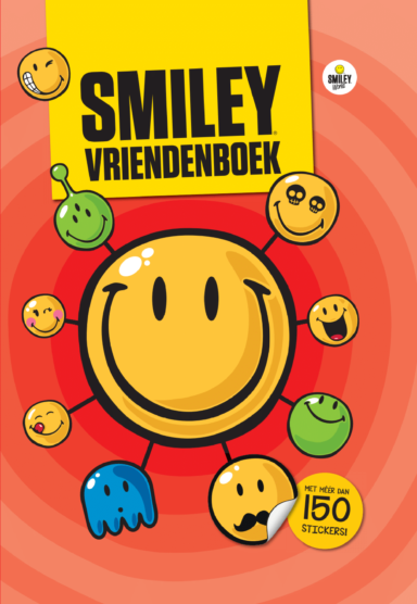 Cover Smiley Vriendenboek