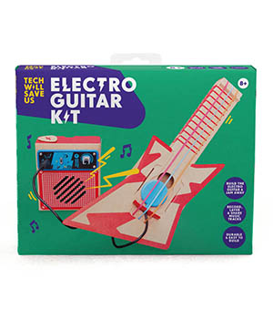 Tech will save us - elektrische gitaar kit