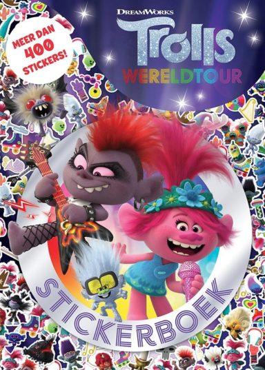 trolls wereldtour stickerboek cover