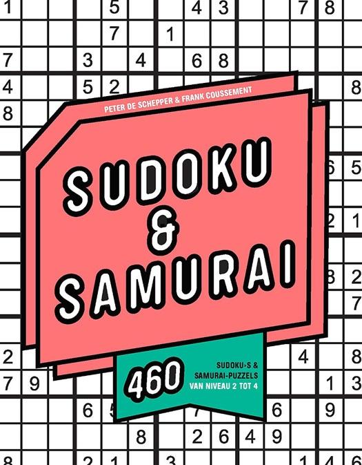 cover van sudoku & samurai