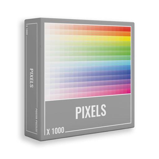 Cloudberries - pixels