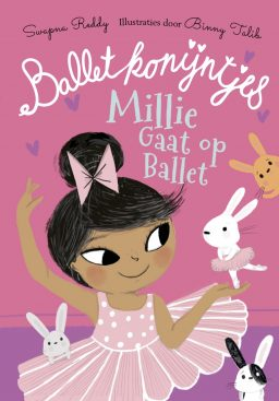 Cover van millie en de balletkonijntjes